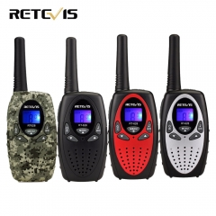 1 Pair Mini Walkie Talkie Kids Radio RT628 0.5W UHF Frequency Portable Ham Radio Hf Transceiver Gift red