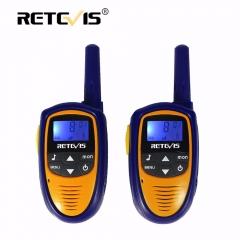 1 Pair Mini Walkie Talkie Kids Radio Retevis RT31 0.5W 8/22CH PMR446 FRS Portable Radio Comunicador blue