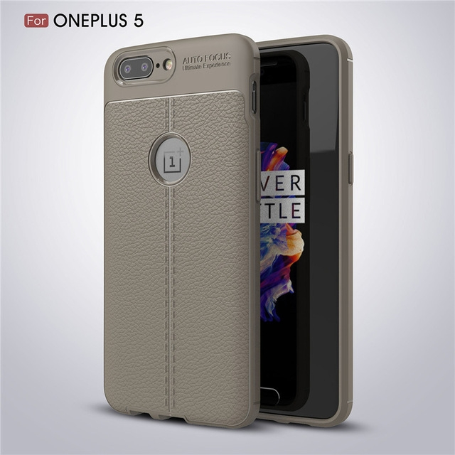 OnePlus 5 Case Luxury TPU Protector Back Shell Soft Silicone Case Phone Cover For One Plus 5 Case grey oneplus 5 case