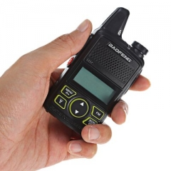 Baofeng Mini Walkie Talkie BF-T1 Handheld Single Band Two-Way Radios 20 Channe Baofeng Walkie Talkie BF-T1