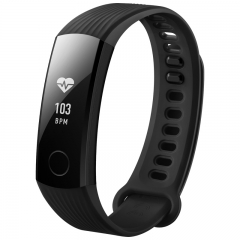Huawei Honor Band 3 Smart Wristband Heart Rate Monitoring Swimming Fitness Tracker for Android iOS black Huawei Honor Band 3