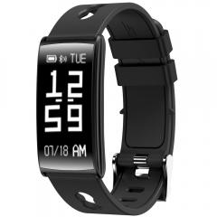 Smart Bracelet Wristband Pulse Band Pedometer Fitness Monitor Activity Tracker Electronics Devices black N109