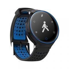 Smart Watch Heart Rate Blood Pressure Oxygen Monitor Waterproof Fitness Tracker Pedometer Smartwatch blue Smartwatch