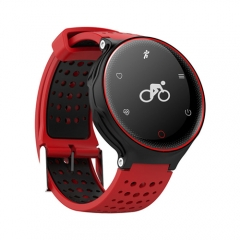 Smart Watch Heart Rate Blood Pressure Oxygen Monitor Waterproof Fitness Tracker Pedometer Smartwatch red Smartwatch