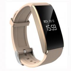 Smart Band Bracelet Blood Pressure Watch Heart Rate Sport Wristband Waterproof Fitness Tracker gold smartwatch