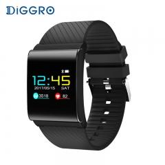 Smart Bracelet Band Color OLED Blood Pressure Oxygen Monitor Heart Rate Fitness Tracker Wristbands black smartwatch