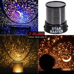 LED Night Light Star Sky Master Projector Romantic Room Novelty Starry Sleeping Lights Cute Gift black 13cm x 13cm x 14.5cm 5w