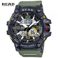 New Fashion Watch LED Men Waterproof Sports Watches Shock Luxury Digital Electronics Watches Men designer1 one size