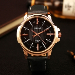 Rose Gold Wrist Watch Men Top Brand Luxury Famous Male Clock Quartz Watch Gold Wrist Watch designer1 one size