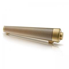 Sound Bar Wireless Subwoof Enhanced TV Remote Control Soundbar Card Plugging Bluetooth Speaker Gold One Size