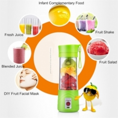 Electric USB Multipurpose Charging Mode Portable Small Juice Extractor Household Blender Food Mixer