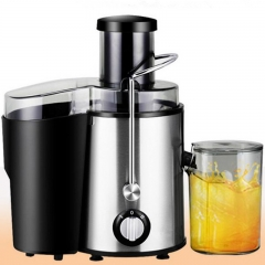 New Stainless Steel Automatic Shake Slow Juicer Fruit Juice Extractor Machine Blender Squeezer sliver
