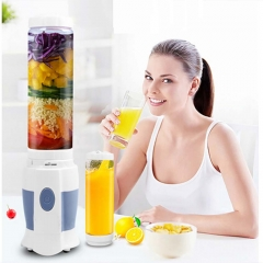 Multifunctional Mini Portable Electric Juicer Extractor Sports Bottle Fruit Vegetable Juicer Blender white