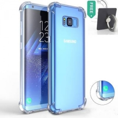 Samsung Galaxy Note8/S8/S8 Plus/S7/S7 edge/S6/S6 edge Phone Case Soft TPU Slim Protective Cover crystal clear S7 edge