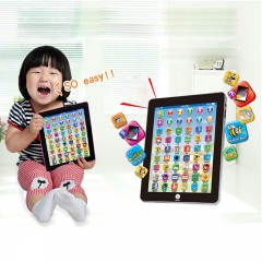 Toy Tablet English chinese Computer Laptop  Kids Early Learning Education Electronic Early Machine random one size