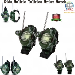 1 Pair Walkie Talkie Wrist Watch for Kids Two-Way Long Range Watch Radio Transceiver with Flashlight style1 one size