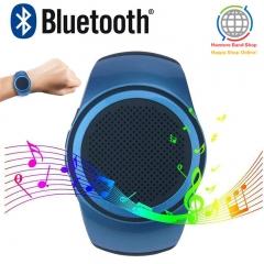 Speaker Watch,Wearable Speaker Mini Multifunctional Bluetooth Sports Speaker,MP3,FM Radio,Selfie style1 one size