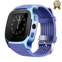 Bluetooth Smart Watch, INFINIX OWWO TECNO T8 Pedometer Calorie Counter Sleep monitor Wrist Watch blue t8 one size