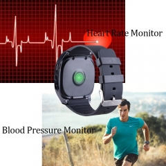 T8 Heart Rate Blood Pressure Monitor Bluetooth Smart Watch,Fitness Tracker Men Women Smart Watch blue Heart Rate Monitor