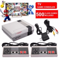 Mini Nintendo NEC TV Retro Handheld Game Console Video Game to Tv Game With 500 Games 2 Gamepads