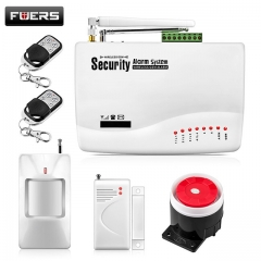 Door Windows Alarm Sensor Wireless GSM Alarm System For Home Security Alarm System white one size
