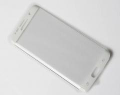 Samsung Galaxy S7/S7 Edge/S6Edge/S6 Edge+ Screen Protector, Tempered Glass//3D Full Coverage white galaxy s7 edge