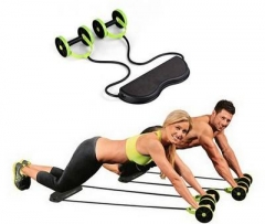 Rally multifunction pull rope wheeled health abdominal muscle training home fitness equipment One Color One Size