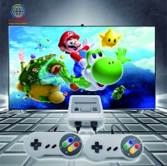 Retro Mini Video Game Console Support TV Out Built-in 621 Classic Games for SNES Format