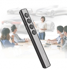 Wireless RF Remote Laser Flip pages pen Conference PPT Projector pen Teaching Laser Pointer pen sliver one size