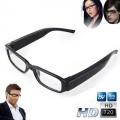 720P HD Mini Hidden Spy Camera Glasses Eyewear DVR Video Recorder Cam Spy Hidden Camcorder Black 720p