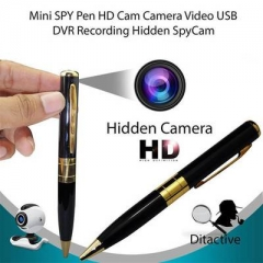 Mini HD DVR Pen Pinhole Spy Camera DVR Video Recorder Cam Hidden Camcorder black one size