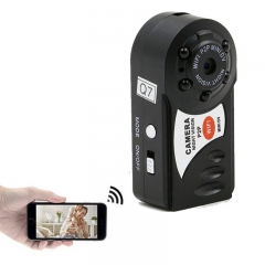 Mini IP Spy Camera Battery Powered HD Wireless Security Spy Camera Video Cam Micro Camcorder black one size