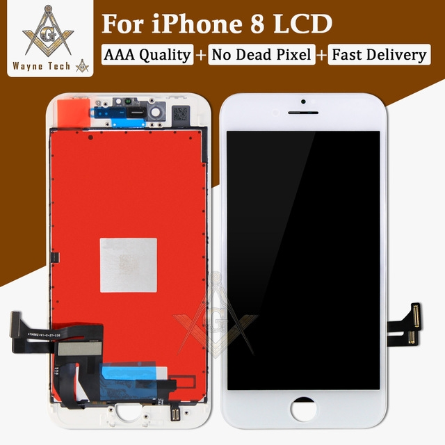 online store c5690 7a1d5 Excellent Quality LCD No Dead Pixel For iPhone 8 Plus 8G Display Touch  Digitizer Assembly Good 3D black iPhone8