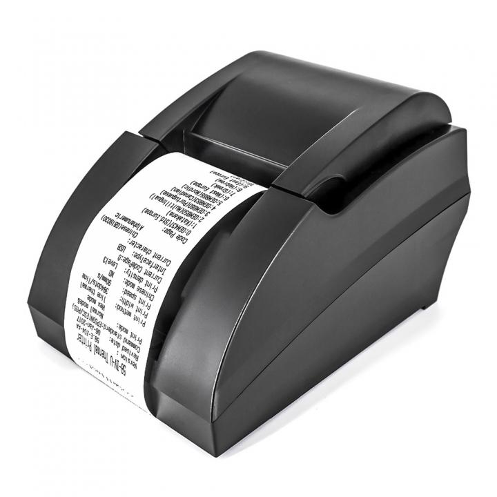 USB Interface POS mini 58mm Thermal Receipt Printer Ticket Thermal Printer Bill Printer Black
