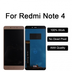 LCD Display For Xiaomi Redmi Note 4 Touch Screen LCD Digitizer Redmi Note4 Display black Redmi note4