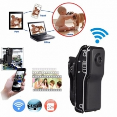 WiFi P2P Nanny Micro Secret Mini Spy Camera IP Camcorder Night Vision DV DVR Video Voice Recorder black one size
