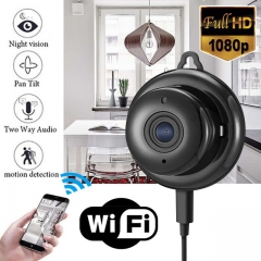Mini Full HD 1080P Wireless WIFI IP Spy Camera Night Vision Camcorders Kits for Home Security CCTV
