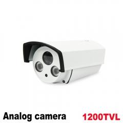 Analog High Definition Surveillance Infrared AHD Camera 1200tvl CCTV Camera Security Outdoor Cameras white only camera