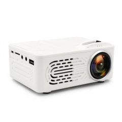 Projector Portable LCD Projector Home Theatre Cinema LED USB Video Media Player white no include hdmi cable