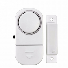 Standalone Magnetic Sensors Independent Wireless Home Door Window Entry Burglar Alarm Security alarm white one size