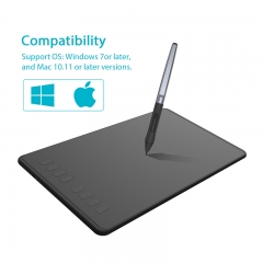 HUION H950P Ultrathin Graphic Tablet Digital Tablets Drawing Pen Tablet with Battery-Free Stylus