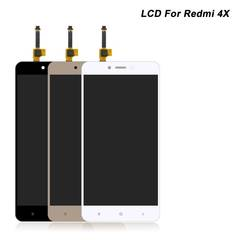 LCD For Xiaomi Redmi 4X Screen LCD Replacement Display Touch Redmi 4X black one size
