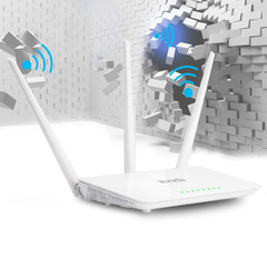 300Mbps Wireless WiFi Router 1*WAN+3*LAN Ports Perfect to House(Chinese Language Firmware) white
