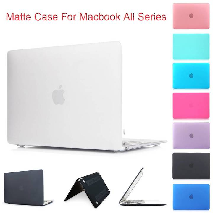 "Macbook case, Matte Plastic Hard Case for Macbook 12""/Air 11""/13""/Pro 13""/15""/Pro Retina 13""/15"" black macbook pro retina15"