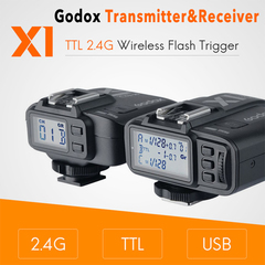 Godox TTL 2.4G Wireless Flash Trigger Transmitter & Receiver For Canon Nikon Sony Flash speedlite black For Sony