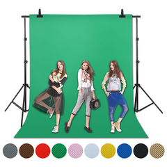 3X3/6M Screen Photo Background Photography Studio Video Nonwoven Fabric Chromakey Backdrop Cloth black 3X3M