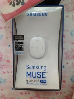 Original Samsung mp3 small stone Samsung Muse YP-W1 player black