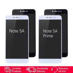 For Xiaomi Redmi Note 5A Display Touch Screen For Redmi Note 5A Prime Display Screen Replacement black Redmi Note 5A Standard