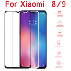 Tempered Glass for Xiaomi Mi 9 Mi 9 8 SE Screen Protector Glass Film Full Cover Glass for Xiaomi black xiaomi 8