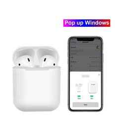 Original 1:1 Wireless Earphones Pop up Bluetooth Headphones For iPhone Android PK AirPods white